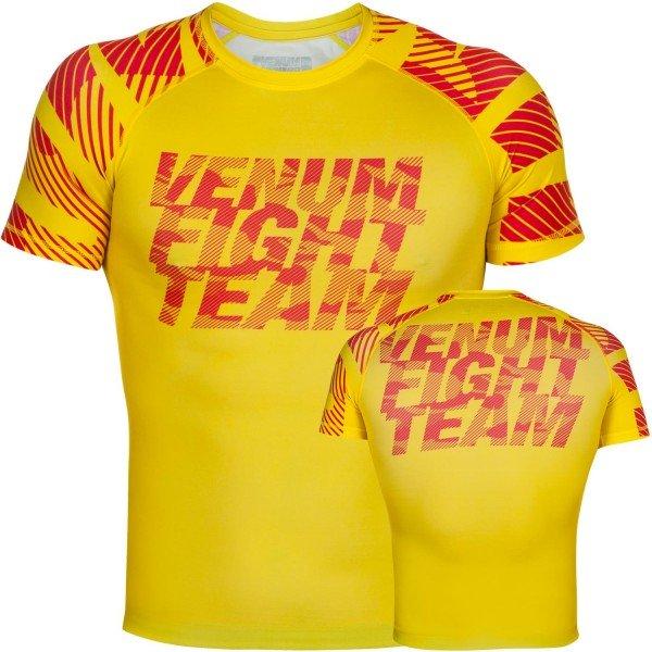Рашгард Venum Speed Camo Acid Yellow S/S