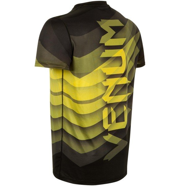 Футболка Venum Dream Dry Tech - Black/Yellow