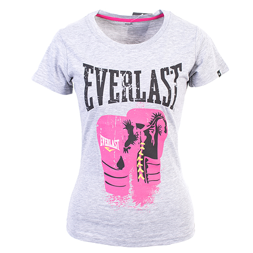 Футболка женская Logo Protex Gloves Everlast