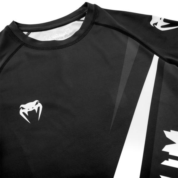 Рашгард Venum Contender 4.0 S/S Black/Grey-White