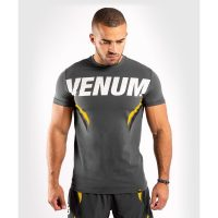 Футболка Venum ONE FC Impact Grey/Yellow