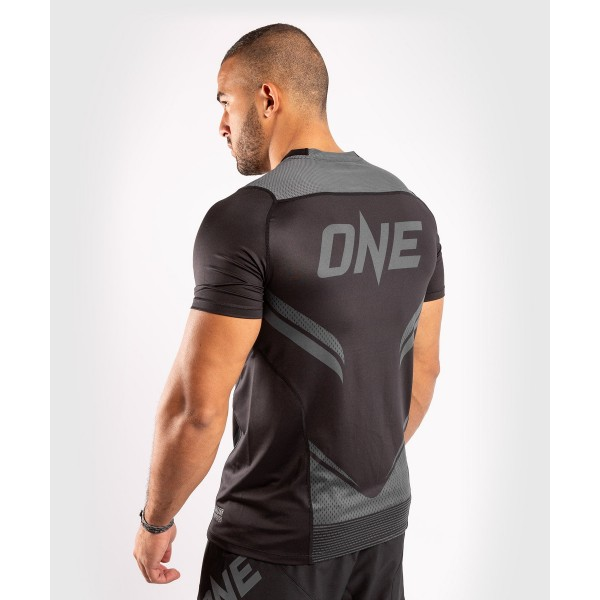 Футболка Venum ONE FC Impact Dry Tech Black/Black