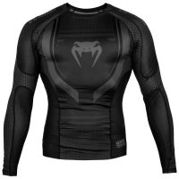 Рашгард Venum Technical 2.0 Black/Black L/S