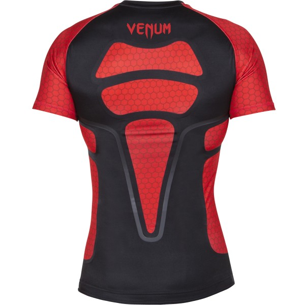 Рашгард Venum Absolute Black/Red S/S