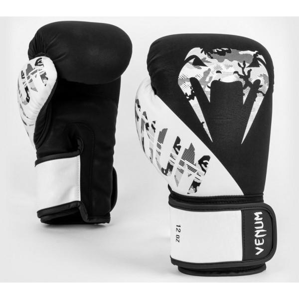 Перчатки боксерские Venum Legacy Black/White