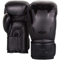 Перчатки боксерские Venum Giant 3.0 Black/Black Nappa Leather