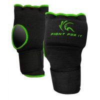Гелевые перчатки Kango KSH-065 Black/Green