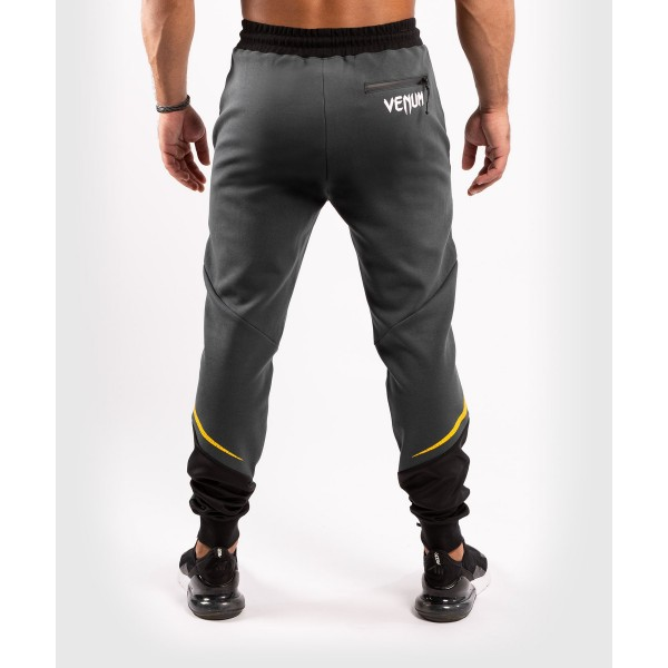 Брюки спортивные Venum ONE FC Impact Grey/Yellow