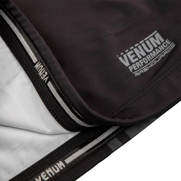 Рашгард Venum Logos Black/Grey S/S