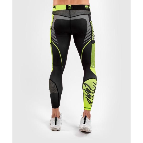 Компрессионные штаны Venum Training camp 3.0 Black/Neo Yellow
