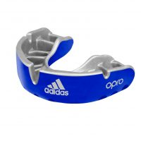 adiBP35 Капа одночелюстная Opro Cold Gen4 Self-Fit Mouthguard Adidas синяя