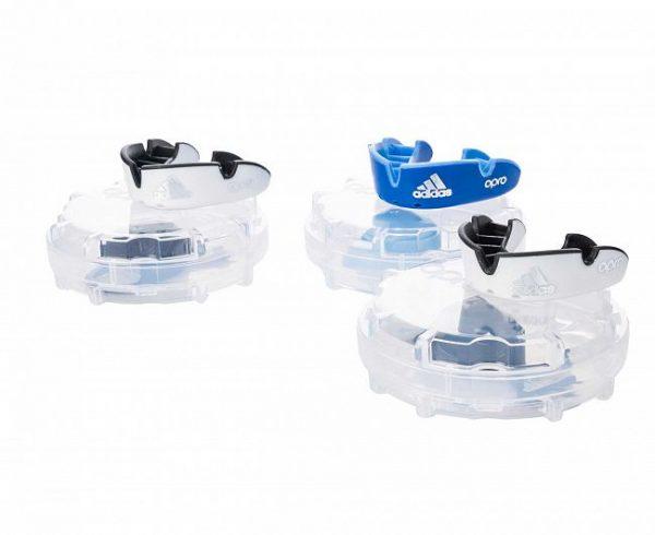 adiBP32 Капа одночелюстная Opro Silver Gen4 Self-Fit Mouthguard Adidas белая