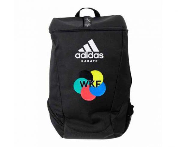 adiACC090WKF Рюкзак Sport Backpack Karate WKF Adidas черно-белый