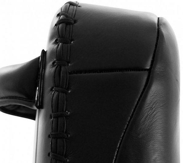 adiBAC042 Макивара Thai Pad Extra Thick Semi Leather черно-белая