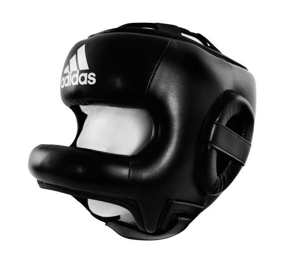 ADIBHGF01 Бамперный шлем для бокса Pro Full Protection Boxing Headgear Adidas черный