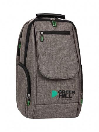 SKBR-222 Рюкзак с клапаном Green Hill коричневый