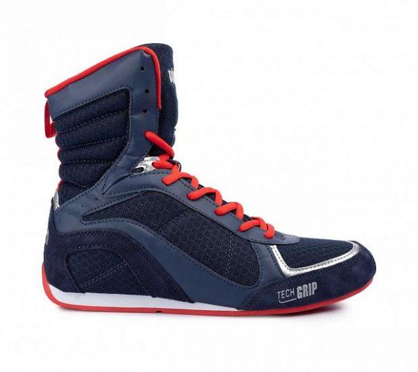 C415 Боксерки Clinch Olimp сине-красные