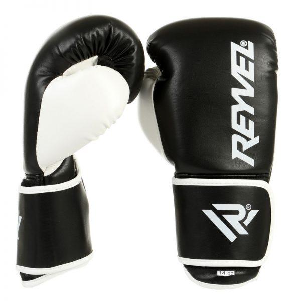 Боксерские перчатки Maximum Protection Reyvel черные